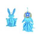 wholesale Baby Toys: LIEF cuddle bunny, light blue, 21cm