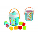 wholesale Baby Toys: ABC Colorful sorting bucket