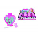 Minnie soap bubbles heart bottle