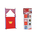 wholesale Dolls &Plush: Puppet theater + 4 hand puppets