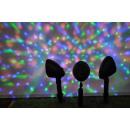 Großhandel Geschäftsausstattung: LED-Projektoren 3  Stück mit buntem Disco-Licht
