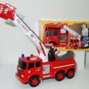 Rutscher-Feuerwehr  91 cm mit  zahlreichen ...
