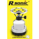 Rsonic Gas cooker Camping stove Chrome Edition
