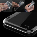 wholesale Mobile phone cases: Iphone X / Clear TPU Silicone Case / Transparent