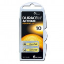 Duracell hearing aids A10 button cell battery