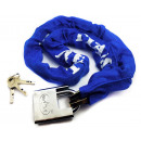 wholesale Ironmongery: Bicycle chain lock with padlock