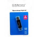 8GB CnMemory Spaceloop Hybrid USB 2.0 and microUSB