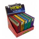 groothandel Aanstekers: Neon Electronics aanstekers Slim