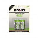 Arcas Ni-MH battery AAA, Mignon 1100mAh 4er Bliste