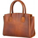 wholesale Handbags: Bloomsbury handbag - brown leather