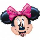 mayorista Artículos con licencia: globo de la hoja Minnie 32 cm