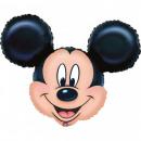 mayorista Artículos con licencia: globo de la hoja Mickey 32 cm