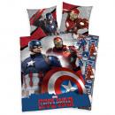 ingrosso Prodotti con Licenza (Licensing): Captain America  Guerra civile biancheria letto