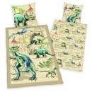 Großhandel Bettwäsche & Matratzen: Young Collection:  Dinosaurier Bettwäsche