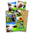 groothandel Bedtextiel & matrassen: Young collectie:  Farm Animals Bedtextiel