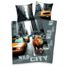 wholesale Bedlinen & Mattresses: Young Collection:  New York Lion bed linen