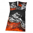 Großhandel Kissen & Decken: Young Collection: Motorcross