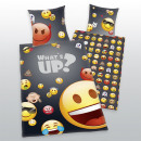 wholesale Bedlinen & Mattresses: Young Collection:  Emot x What's up! bed linen