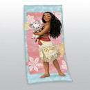grossiste Articles sous Licence: Disney' s serviette Vaiana Velourstuch