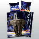 groothandel Home & Living: Young collectie:  Big City Elephant Bedtextiel