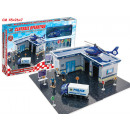 wholesale Blocks & Construction: operations center  playset with metal means