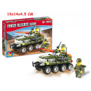 wholesale Blocks & Construction: Construction click  clack military vehicles 102 pcs