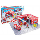 wholesale Blocks & Construction: Central Fire  diecast playset in window box