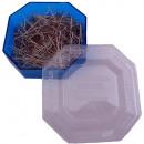 Stalen pinnen 50g in blauwe doos