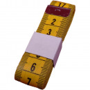Ruban à mesurer, jaune, 150cm, cm / cm