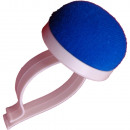 Pincushion with arm holder plastic, blue