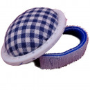 Pincushion with arm holder Velcro tape, blue