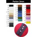 Perlon rits 3mm - 50cm