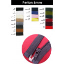 Zipper Perlon divisible 6mm - 25cm