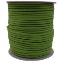 Cordoncino di cotone 5mm - 100m, verde kiwi