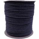 Cordoncino di cotone 5mm - 100m, grigio