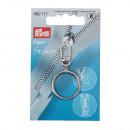 Fashion Zipper Ring silver