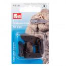 wholesale Accessories & Spare Parts:2 fur hook clips brown