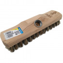 Scrubber, hout, Union, met draad