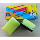 Großhandel Cremes: Topfschwämme, gelb-grün, mit Griffleiste, ...