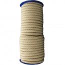 Cordon de coton 8mm - 25m, beige clair