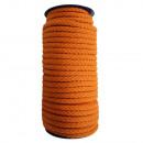 Katoenen koord 8 mm - 25 m, oranje
