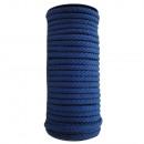 Katoenen koord 8 mm - 25 m, blauw