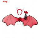 ingrosso Giocattoli: Devil set, 3  pezzi. (Ala circa 85 cm di larghezza,