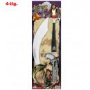 wholesale Toys: Pirate set, 3 pcs.  (Binoculars, saber, pistol)