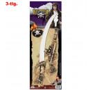 wholesale Toys: Pirates set, 3  pcs. (Eyepatch, sword, gun)