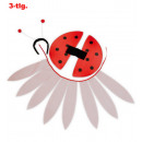 wholesale Toys: Ladybug Set 3 pcs.  (Headband with sensors, flyvnin