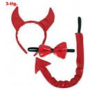 wholesale Toys: Devil Set paint, 3  pcs. (Tail, fly, Haarrei