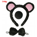wholesale Toys: Mouse set, 3 pcs.  (Loop, nose, headband with ears