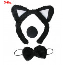 wholesale Toys: Cat set, 3 pcs.  (Loop, nose, hair band with O