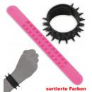 grossiste Bijoux & Montres: Articulé punk  bracelet, couleurs assorties